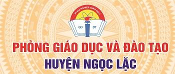 Phòng Giáo dục và Đào tạo huyện Ngọc Lặc